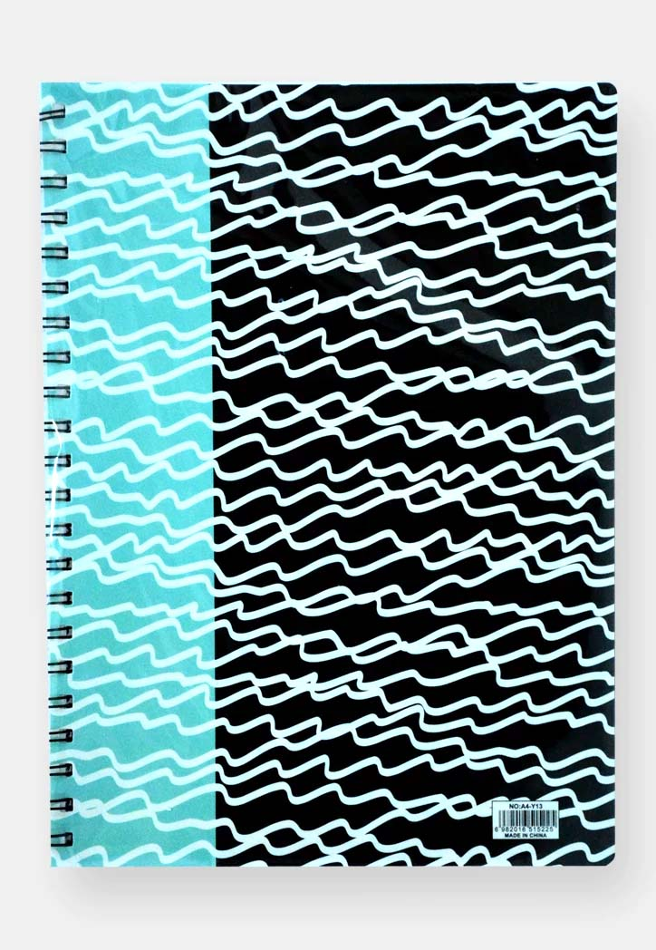 Plastic Cover Spiral Notebook A4