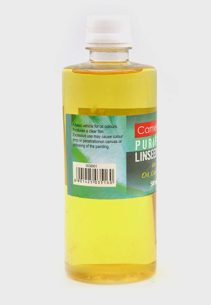 Camel - Artist Purified Linseed Oil For Oil Color