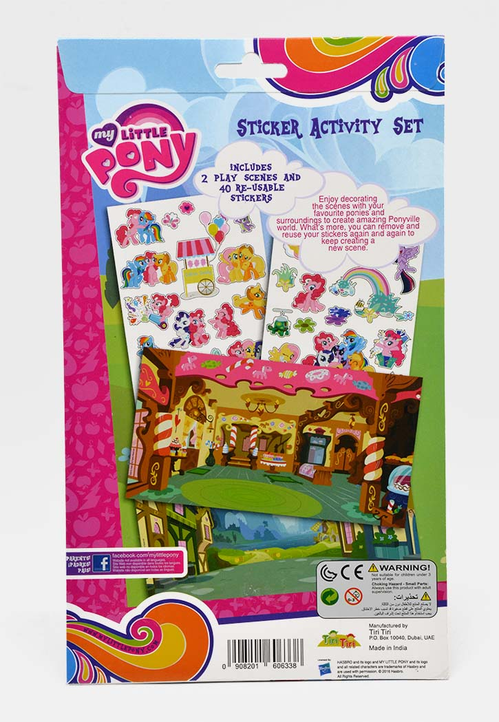 MY LITTLE PONY STICKER ACTIVITY SET