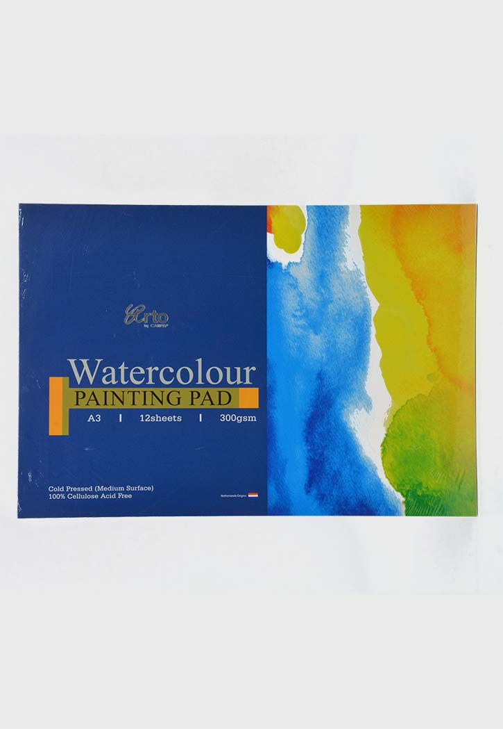 Arto - Watercolor Painting Pad Cellulose Cold Pressed A3 300GSM