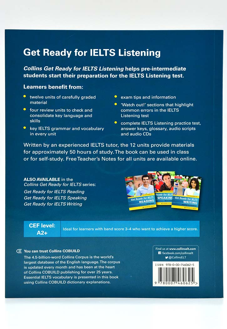 Get Ready for IELTS Listening Pre-Intermediate A2+