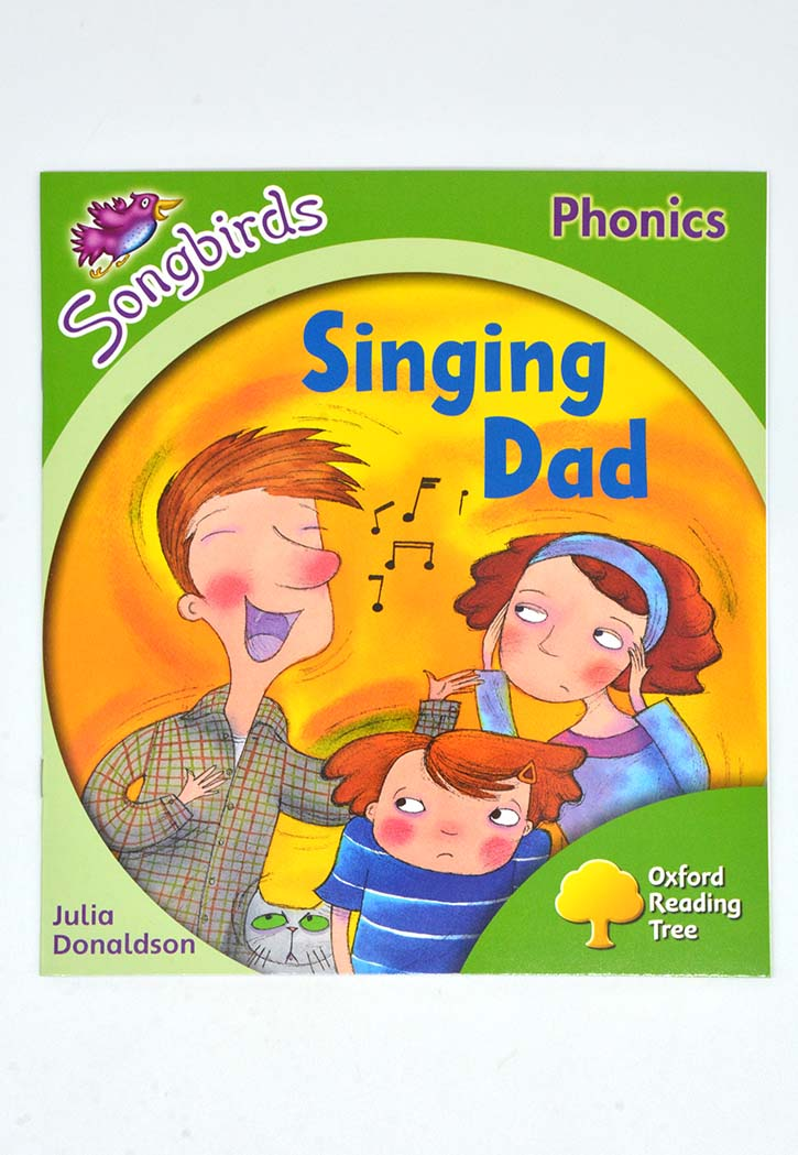 SONGBIRDS PHONICS:SINGING DAD-2