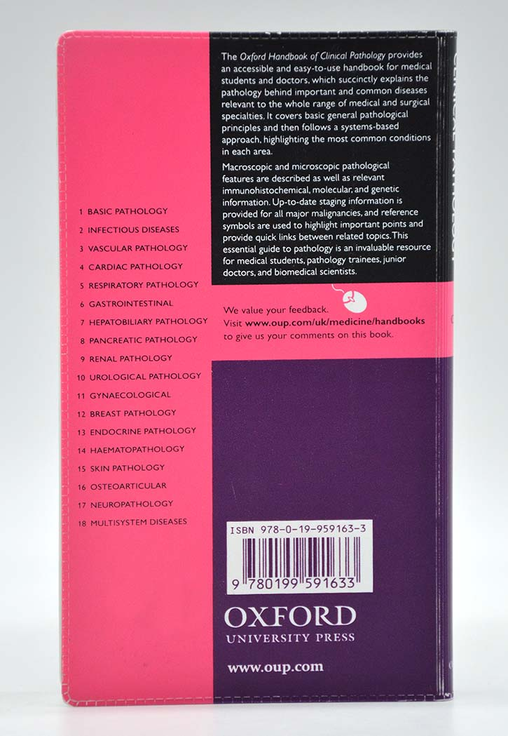 Oxford Handbook Of Clinical Pathology