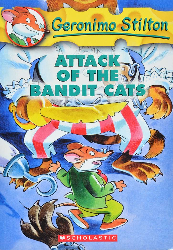 Geronimo Stilton - Attack Of The Bandit Cats