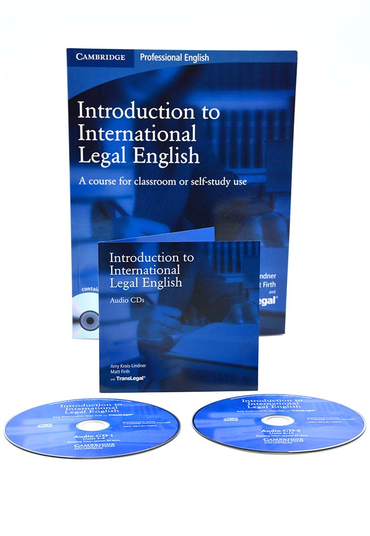 Cambridge - Introduction to International Legal English