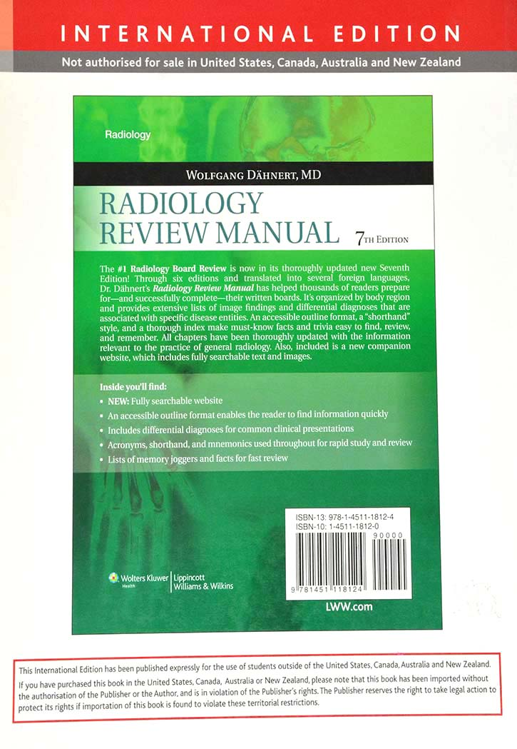 RADIOLOGY REVIEW MANUAL 7TH EDITION