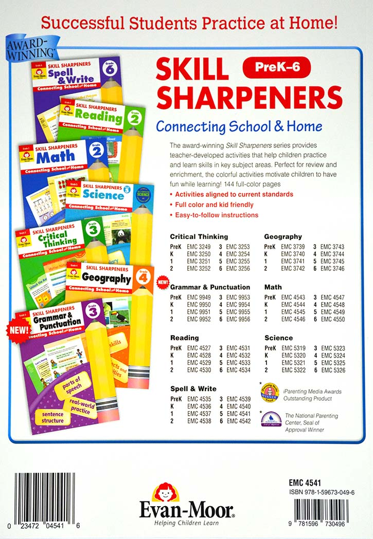 Skill Sharpeners - Spell & Write Grade-5
