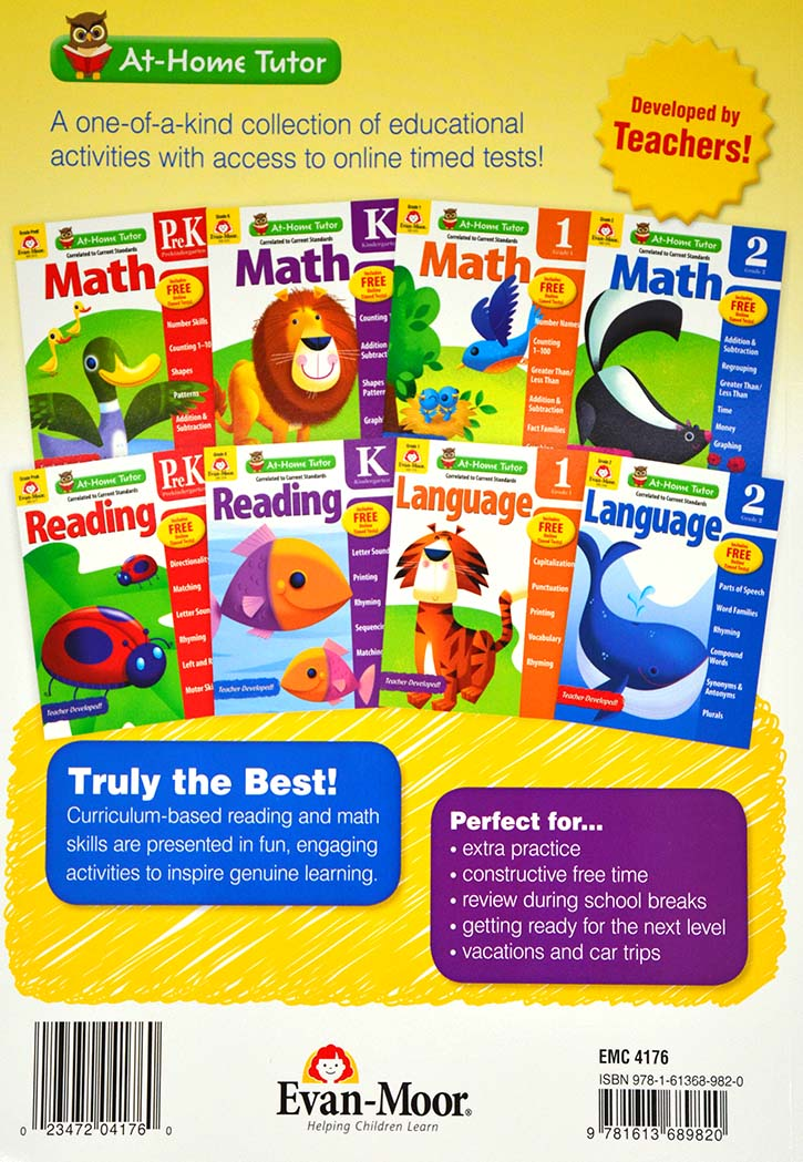 At Home Tutor Math, Grade 2