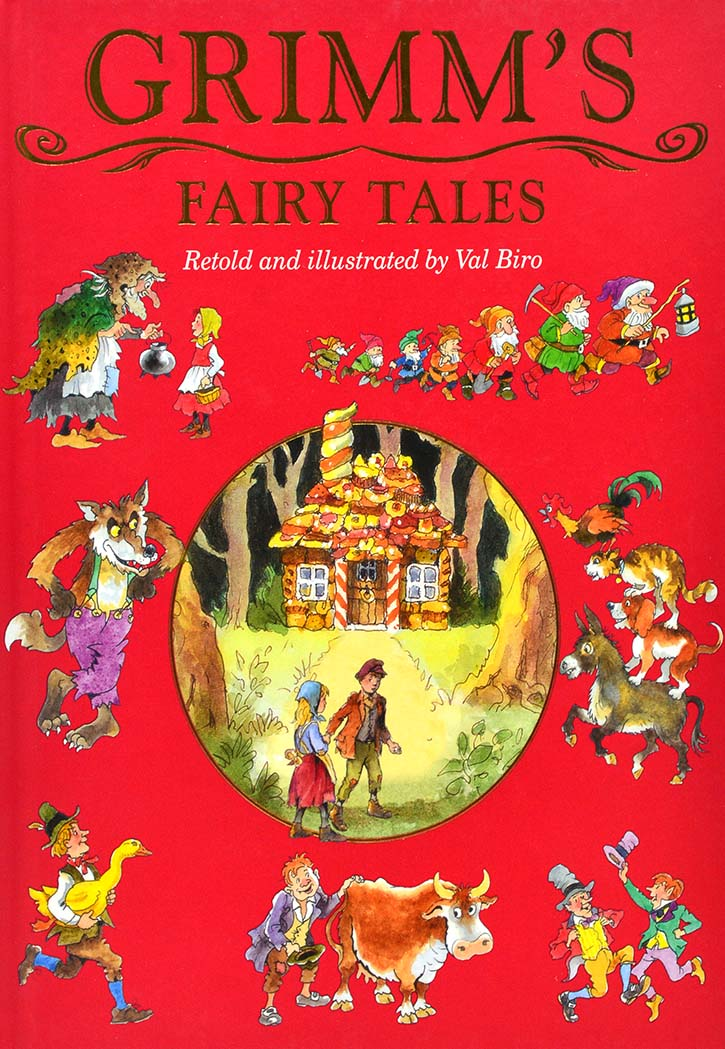 GRIMM'S FAIRY TALES RETOLD AND ILLUSTRATES