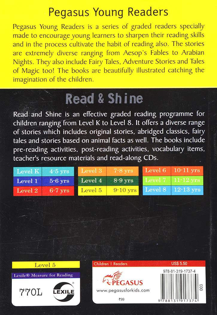 READ & SHINE-ARABIAN NIGHTS-4 IN 1