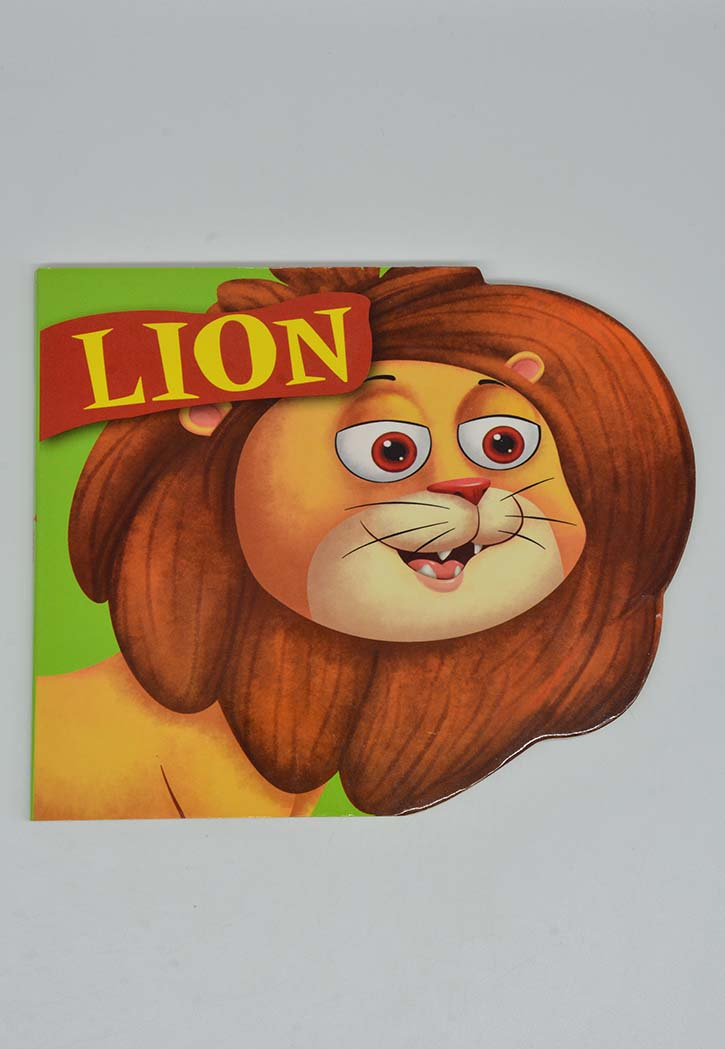 Lion - Hard Cover Story Book