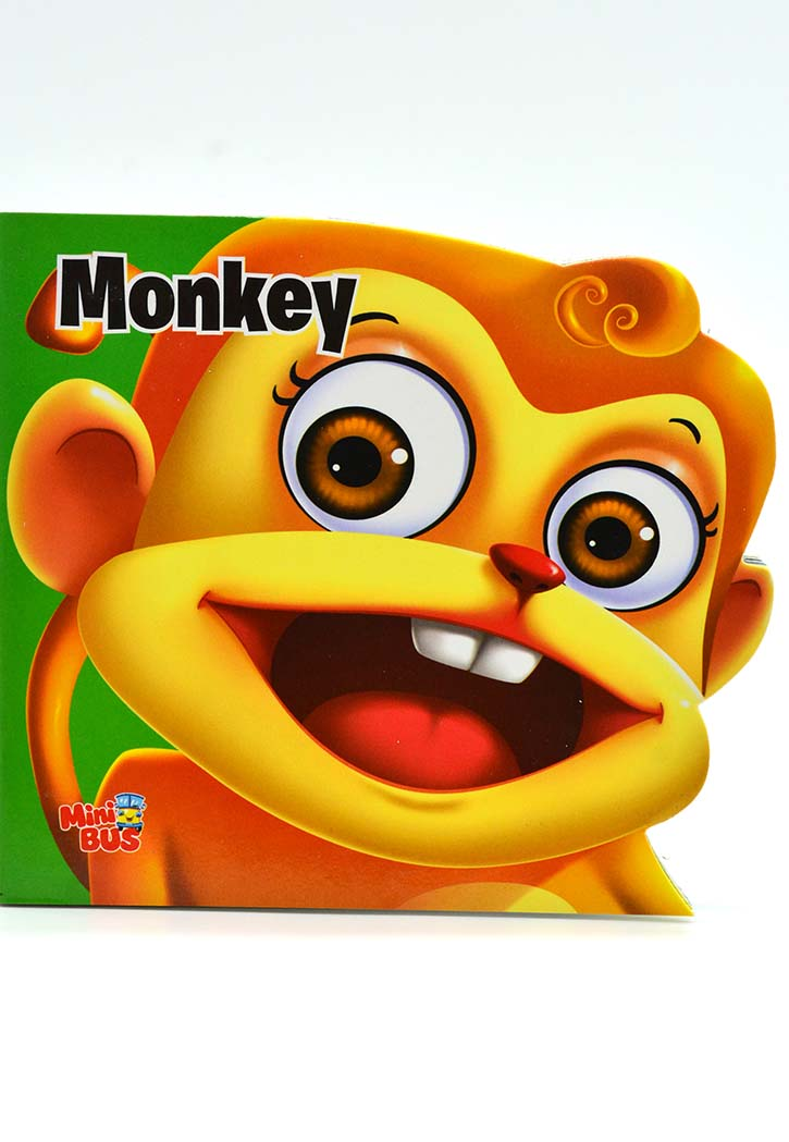Monkey - Hard Cover Story Book