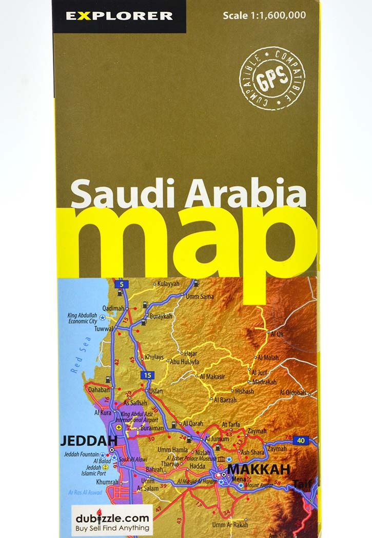 Explorer - Saudi Arabia Map