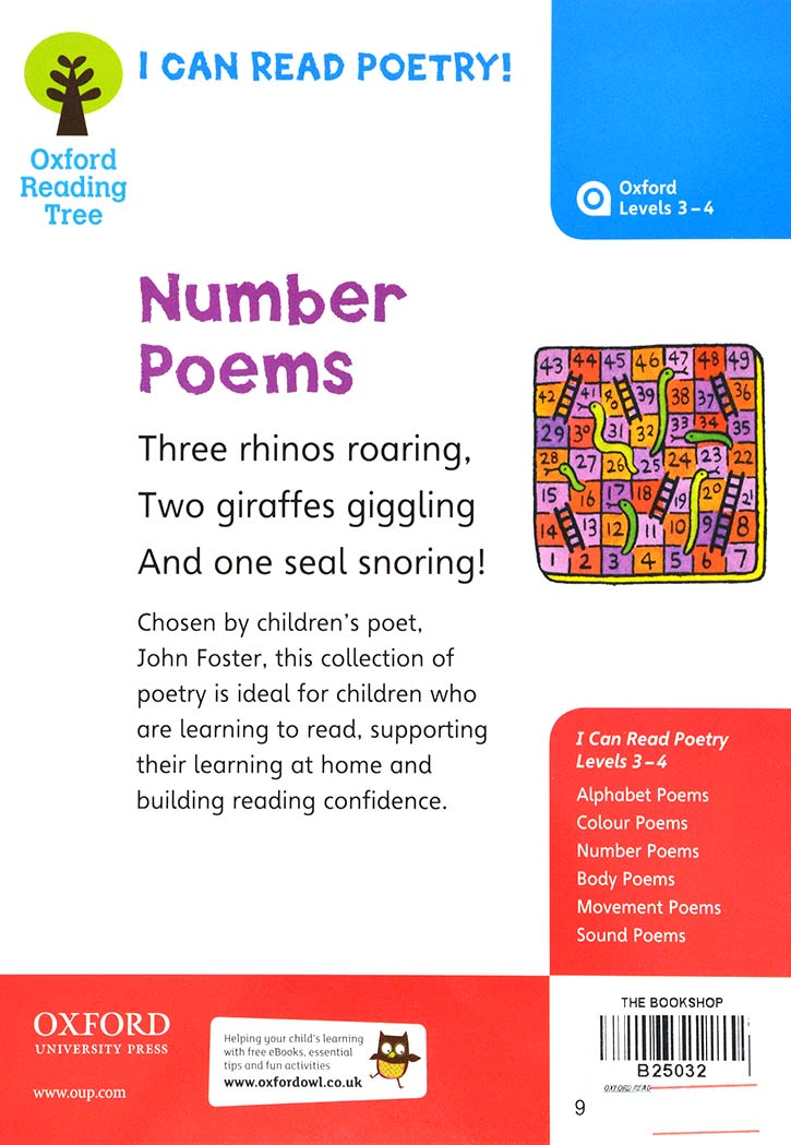 Oxford Reading Tree - Number Poems