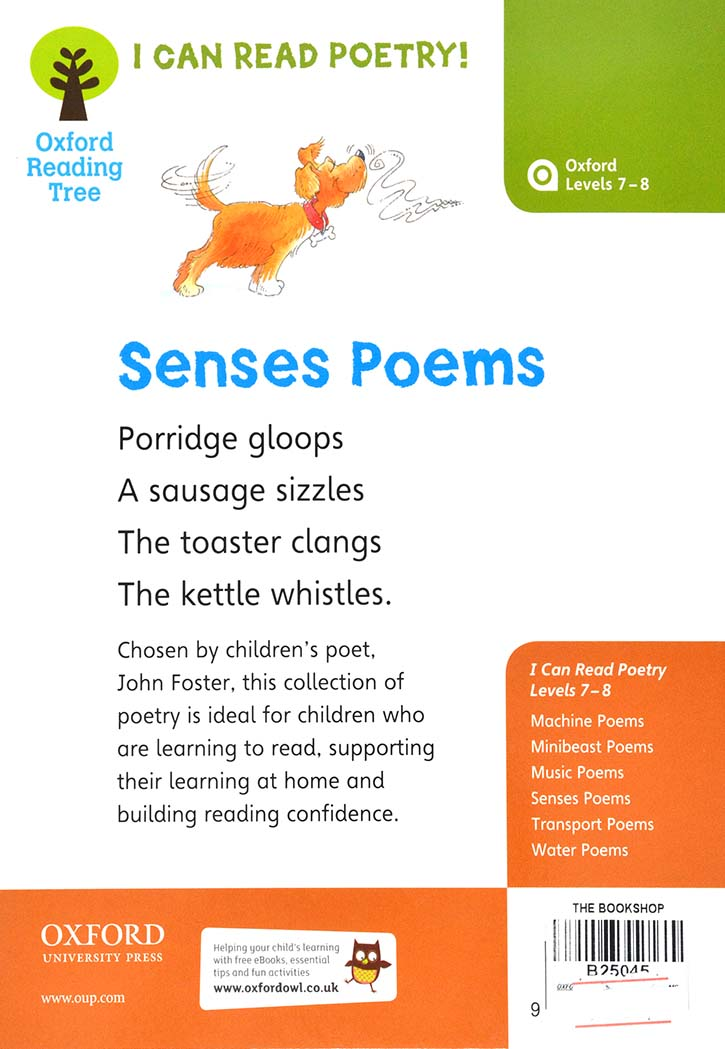 OXFORD READING TREE : SENSES POEMS