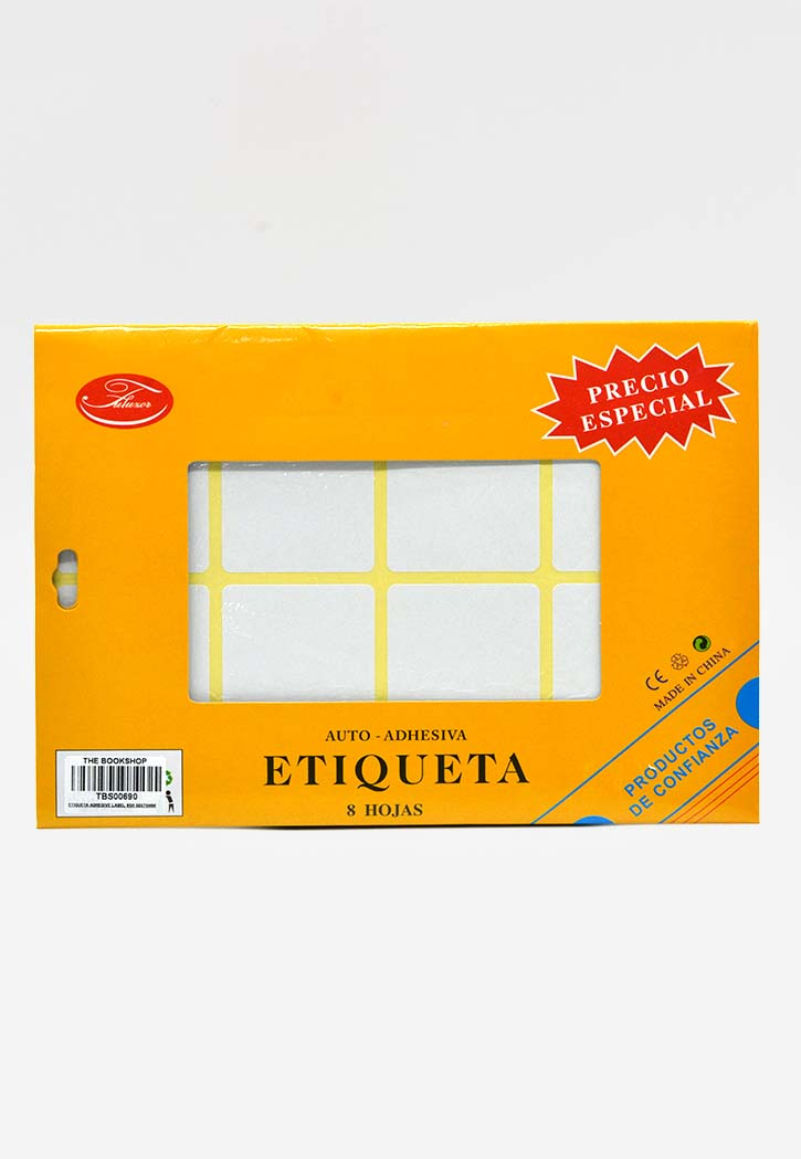 Etiqueta - Adhesive Label 50x75MM