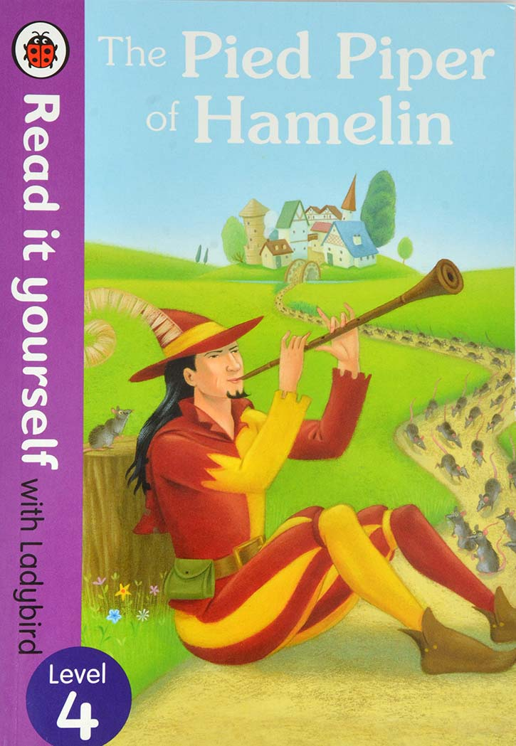 Ladybird Picture Books - The Pied Piper Of Hamelin Level 4