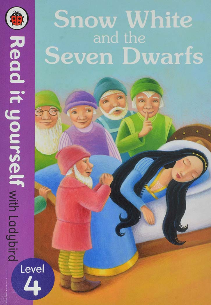 LADYBIRD TALES-SNOW WHITE AND THE SEVEN DWARFS LEVEL 4