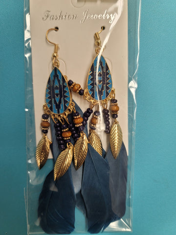 Super Stylish Feather Earrings