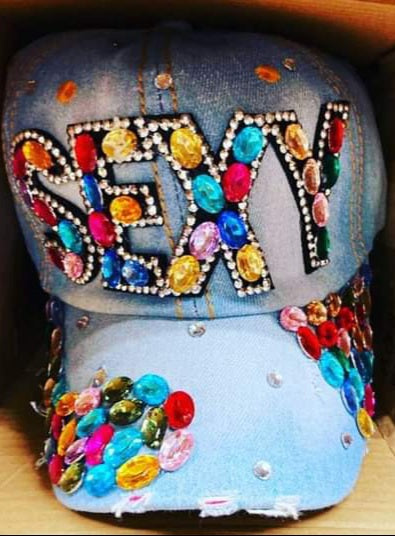 Stylish Blinged Out Hats