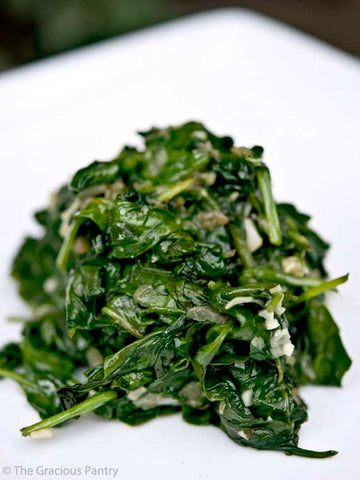 Garlic Spinach Recipe for Ayurvedic Spring Diet