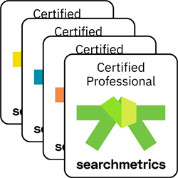 Alle Searchmetrics Belt Zertifizierungen (Deutsch)