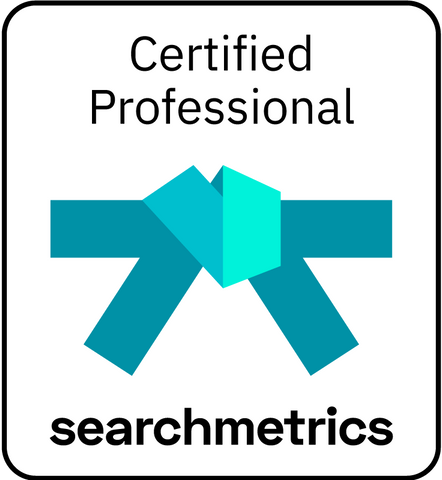 Searchmetrics Blue Belt Certification (German)
