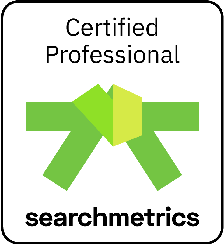 Searchmetrics Green Belt Certification (German)