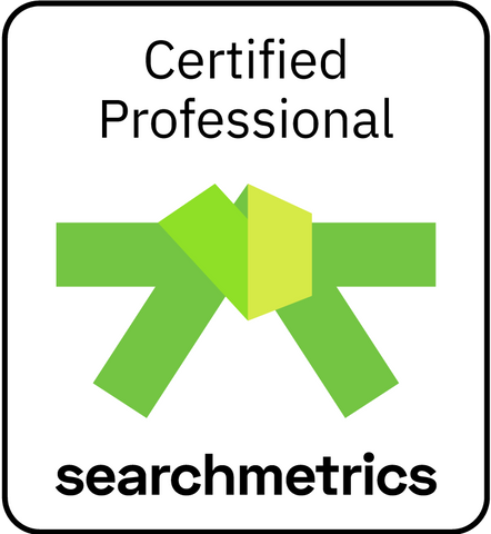 Searchmetrics Green Belt-Zertifizierung (Deutsch)