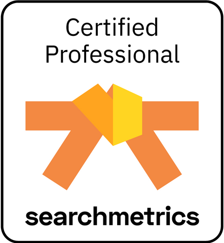 Searchmetrics Orange Belt Certification (English)