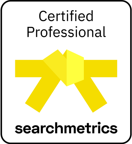 Searchmetrics Yellow Belt-Zertifizerung (Deutsch)