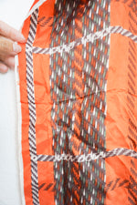 Load image into Gallery viewer, Vintage orange print scarf