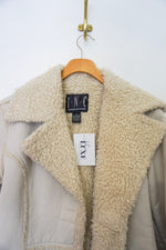Load image into Gallery viewer, INC off white sherling jacket