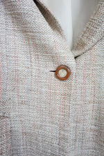 Load image into Gallery viewer, Vintage Nude Saks Fifth wool blazer