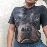 Load image into Gallery viewer, Vintage tie-dye Rottweiler graphic t-shirts sz M