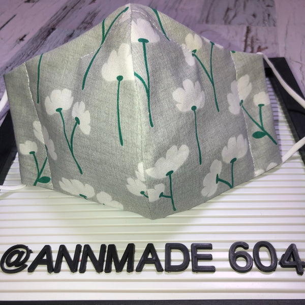 F-002 / Face Cover - Easter floral
