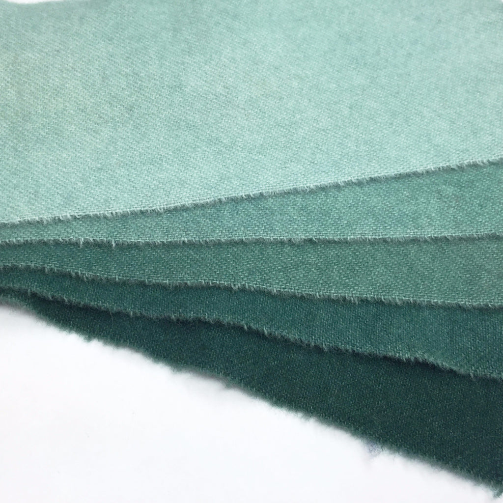 Jacobean - 1 - Teal - Rug Hooking Supplies