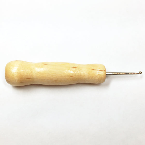 Fraser Hook - Straight Handle - Number 4 - Rug Hooking Supplies