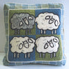 DiFranza Designs - Four Sheep Pillow - Rug Hooking Supplies