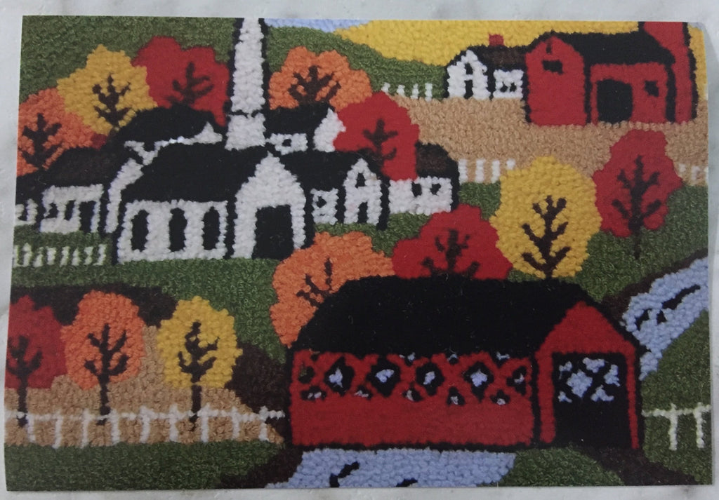 Kit - New England Autumn - Rug Hooking Supplies