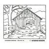 Kit - Covered Bridge - Rug Hooking Supplies
