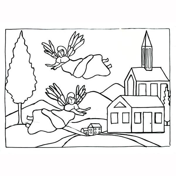 Ruckman Mill Farm - Choir of Angels - Rug Hooking Supplies