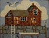 DiFranza Designs - Fishing Shack - Rug Hooking Supplies