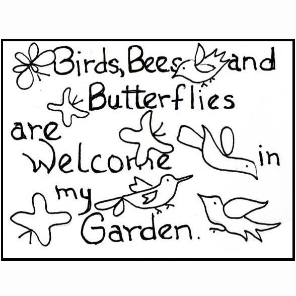 Ruckman Mill Farm - Birds and Bees - Rug Hooking Supplies