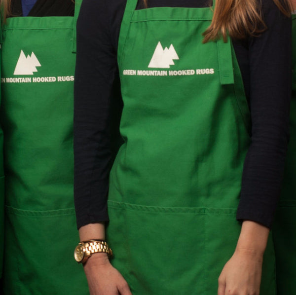 Green Mountain Apron - Rug Hooking Supplies