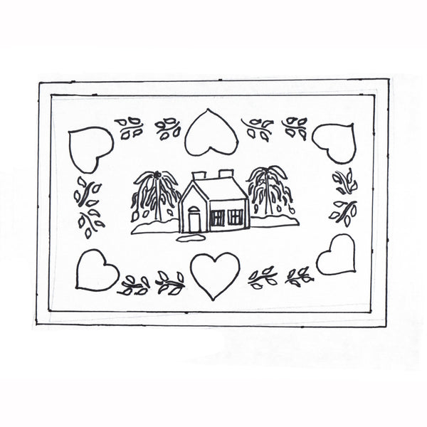 Green Mountain Design - Heart & Home - Rug Hooking Supplies
