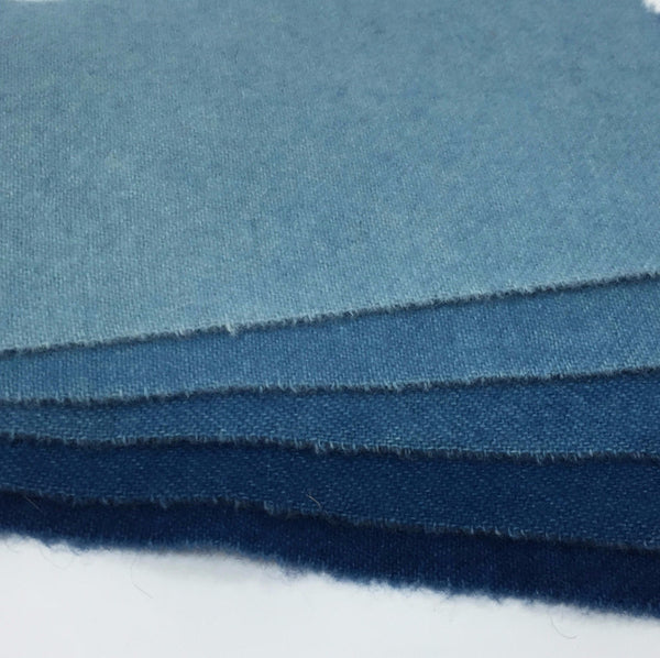 Bolt Wool, Dyed Wool, Swatches