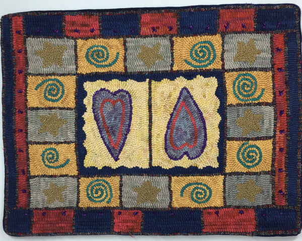 Hearts for my Daughter - Rug Hooking Supplies