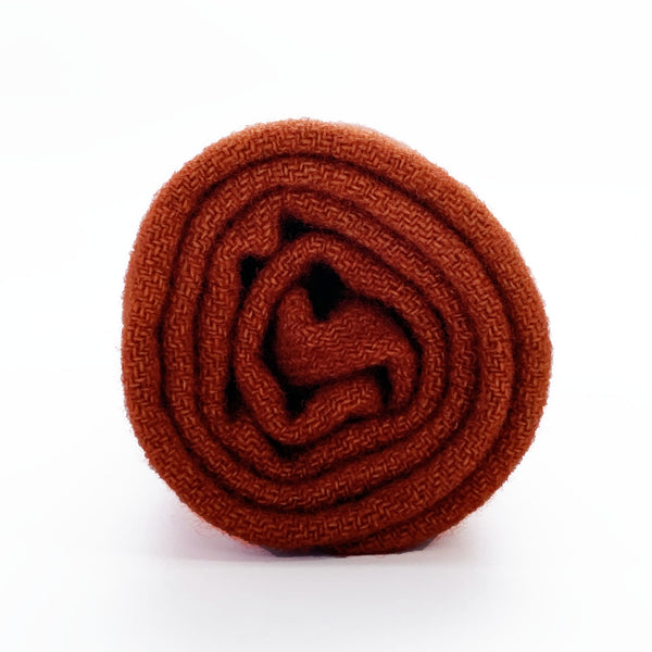 Dyed Wool - Redware Pottery - Rug Hooking Supplies