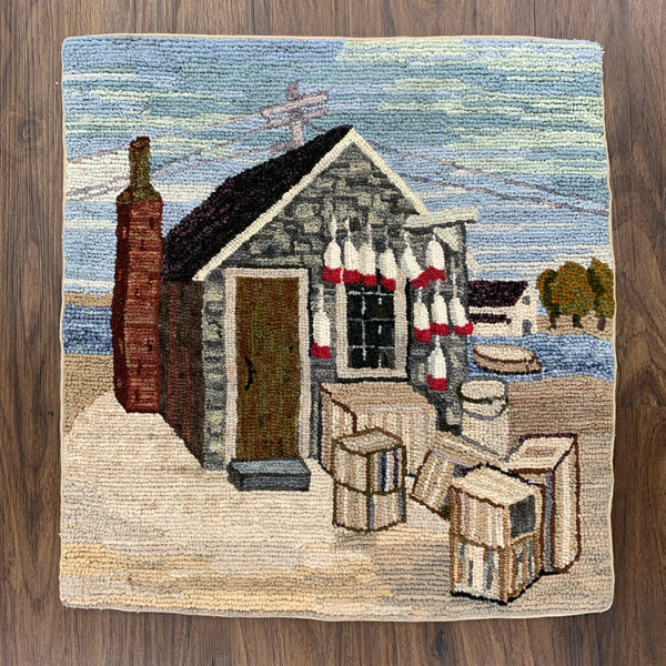 Fishing Shack - Rug Hooking Supplies